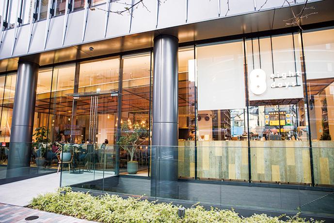星野リゾートOMO5 東京大塚の1階。