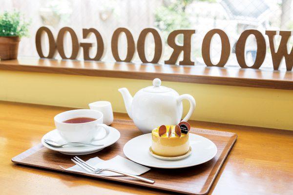 Pâtisserie woo-roo-goo