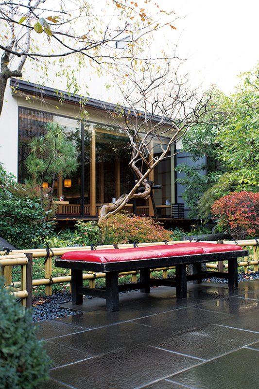 四季折々の風景が楽しめる庭園。