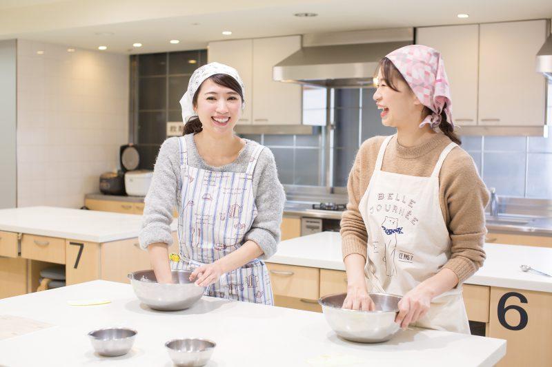 料理教室で 手作りパンに挑戦