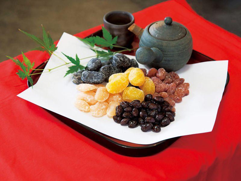 日本茶のほか、洋酒やワインとの相性も抜群。