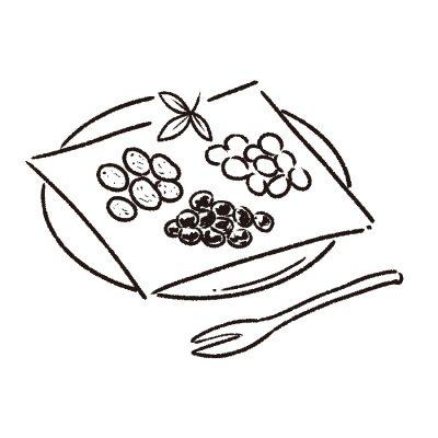 素材の風味も楽しめる 上品な甘さの甘納豆