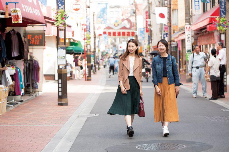 活気あふれる 名物商店街をお散歩