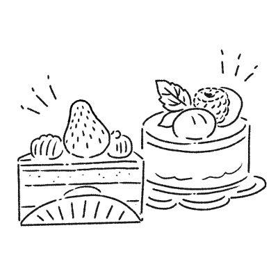 おいしいケーキと焼き菓子を お持ち帰り