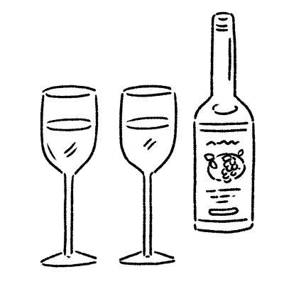 帰宅前におしゃれバルでワインを1杯